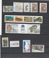 Saint Pierre Et Miquelon 1995 Yvert  N°  609 à 617 + 619A + 620 à 623  ** - Unused Stamps