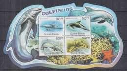B251. Guine-Bissau - MNH - 2011 - Nature - Fauna - Marine Life - Dolphins - Sellos