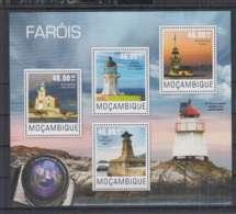 L914. Mozambique - MNH - 2014 - Architecture- Lighthouses - Architecture
