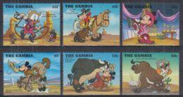 U251. Gambia - MNH - Cartoons - Disney's - Characters - Disney