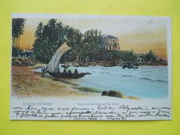 Ceylon ,Colombo ,1903 ,cachet Paquebot - Sri Lanka (Ceylon)
