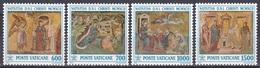 Vatikan Vatican 1992 Religion Christentum Weihnachten Christmas Kunst Arts Mosaik Santa Maria Maggiore, Mi. 1075-8 ** - Vatikan