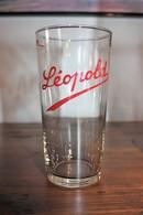 Verre à Bière LEOPOLD - Belge - Ancienne Brasserie Bruxelloise - En Très Bon état - - Verres