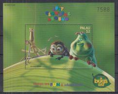 N251. Palau - MNH - Cartoons - Disney's - A Bug's Life - Disney
