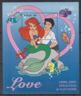 N251. Nevis - MNH - Cartoons - Disney's - Love - Disney