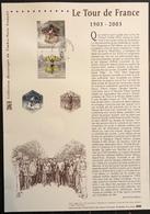 France Document - FDC - Premier Jour - YT Nº 3582 Et 3583 - 2003 - FDC