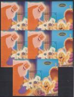M914. 5x Grenada - MNH - Cartoons - Disney's - Hercules - Disney