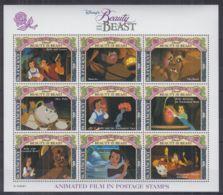K914. St Vincent - MNH - Cartoons - Disney's - Beauty And The Beast - Disney