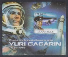 T251. Mozambique - MNH - 2011 - Space - Yuri Gagarin - Bl. - Space