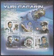 T251. Mozambique - MNH - 2011 - Space - Yuri Gagarin - Space