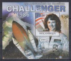 T251. Mozambique - MNH - 2011 - Space - Challanger - Bl. - Space