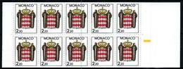 Mónaco Nº Carné-1 (sin Plegar) Nuevo - Carnet