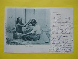 Ceylon ,Colombo ,Tamil Barber ,cachet Paquebot 1902 - Sri Lanka (Ceylon)