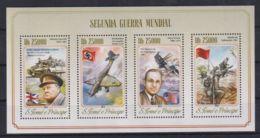 A647. Sao Tome & Principe - MNH - 2014 - Military - Transport - Militaria
