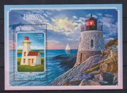 A647. Sao Tome & Principe - MNH - 2014 - Architecture - Lighthouses - Bl. - Architecture