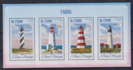 A647. Sao Tome & Principe - MNH - 2014 - Architecture - Lighthouses - Architecture