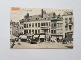 A 1463 - Namur La Place Et Statue De L'ange - Namur