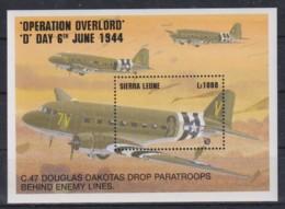 U914. Sierra Leone - MNH - Military - War - Transport - Militaria
