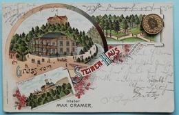 Gruss Vom Steinenhaus B. Blankenstein, Barmen, Litho, 1900 - Hattingen