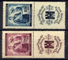 Böhmen Und Mähren 1941 Mi 53-54 * Rotes Kreutz [200519XXVII] - Occupation 1938-45