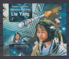 R647. Mozambique - MNH - 2012 - Space - Liu Yang - China - Bl - Space