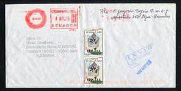 Ecuador 2003, To Germany - Ecuador