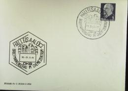 DDR: Privat-Gs-Brief Mit 5 Pfg Ulbricht  SoSt. Halle(Saale) 31.5.64 Briefmarkenschau Im Chemiezentrum, O. A Knr: PU 14/4 - [6] Democratic Republic
