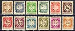 Böhmen Und Mähren Dienstmarken 1941 Mi 1-12 * [200519XXVII] - Occupation 1938-45