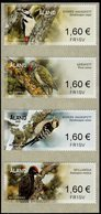 Aland - 2019 - Birds - Woodpeckers - Mint Self-adhesive ATM Stamp Set - Aland