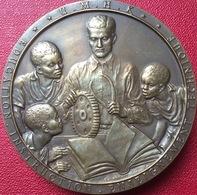 Medaille Congo Union Minière Du Haut Katanga - Professionnels / De Société