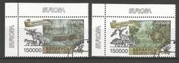 Weißrussland 1999  Mi.Nr. 316 / 317 , EUROPA CEPT  Natur- Und Nationalparks -  Gestempelt / Used / (o) - 1999