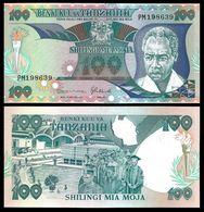 TANZANIA - 100 Shilingi Nd.(1986) UNC P.14 B - Tanzania