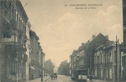 CPA - Belgique - Brussels - Bruxelles - Schaerbeek - Avenue De La Reine - Schaarbeek - Schaerbeek