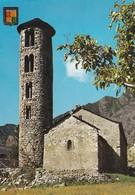 ANDORRE---VALLS D'ANDORRA--SANTA-COLOMA--campanario Romanico--chapelle Romane--voir 2 Scans - Andorra