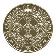 Monnaie De Paris , 2013 , Les Epesses , Puy Du Fou , Les Chevaliers De La Table Ronde - Monnaie De Paris
