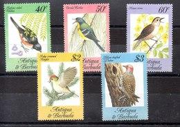 Serie De Antigua Y Barbuda N ºYvert 774/78 ** PAJAROS (BIRDS) - Antigua And Barbuda (1981-...)