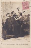 M. Tombosk Et Sa Jeune Femme En Expédition Chez Les Indiens (série Incomplète : 9 Cartes/10, Manque La N° 7) - Tarjetas De Fantasía