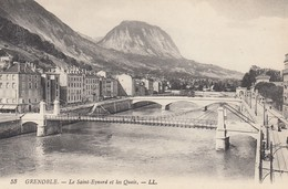 CP GRENOBLE ISERE 38 - LE SAINT EYNARD ET LES QUAIS - Grenoble