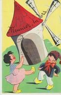 C.P.A. - MEUNIER TU DORS - UN COUPLE DE JEUNES MEUNIERS DANSANT - - Fairy Tales, Popular Stories & Legends