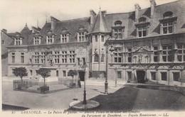 CP GRENOBLE ISERE 38 - LE PALAIS DE JUSTICE - FACADE RENAISSANCE - Grenoble