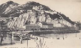CP GRENOBLE ISERE 38 - LE PONT DE L'ESPLANADE ET LES FORTS - Grenoble