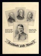 J30-GERMAN EMPIRE-PROPAGANDA POSTCARD ADOLF HITLER.WWII.DEUTSCHES REICH.POSTKARTE.carte Postale - Germany