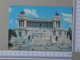 ITALY - PIAZZA VENEZIA -  ROMA -   2 SCANS  - (Nº28854) - Places & Squares