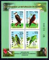 Hoja Bloque De Honduras N ºYvert 73 ** PAJAROS (BIRDS) - Honduras