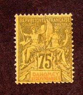 Dahomey N°14 N* TB Cote 105 Euros !!! - Ongebruikt