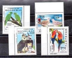 Serie De Honduras Aëroe N ºYvert 1040/43 ** PAJAROS (BIRDS) - Honduras