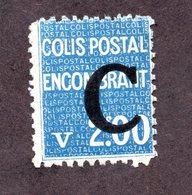 France Colis N°118 N* TB Cote 47 Euros !!!RARE - Colis Postaux