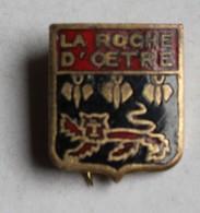 Ancienne Broche Insigne émaillée La Roche D'Oetre - Obj. 'Souvenir De'
