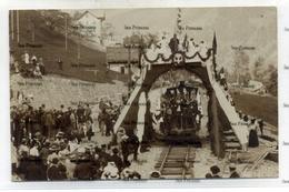 Switzerland Valais Opening Of Railway Champery 5 September 1907 Postcard Used 10 Sep 1907 - VS Valais
