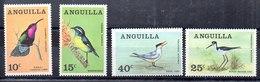 Serie De Anguilla N ºYvert 20/23 ** PAJAROS (BIRDS) - Anguilla (1968-...)